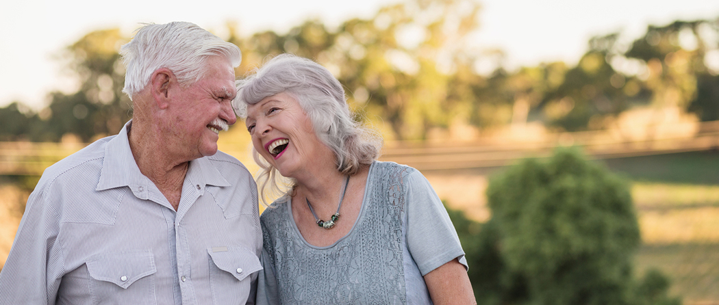 couple enjoying time in one of the top places to retire
