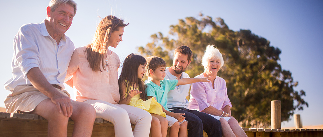 family thinking about life insurance rates by age