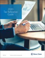 Updated Tax Bracket Risks Brochure image