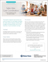 Value of Care Coordination flyer