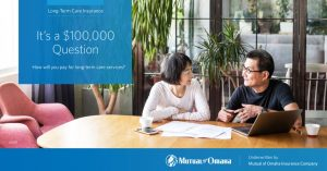 Mutual of Omaha | It's a $100,000 Question Postcard Image